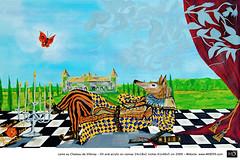 HD Art Painting Surrealismy I & II - NAME.018