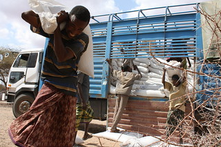 Oxfam's partner delivers food aid - Wajir, Kenya | by Oxfam International