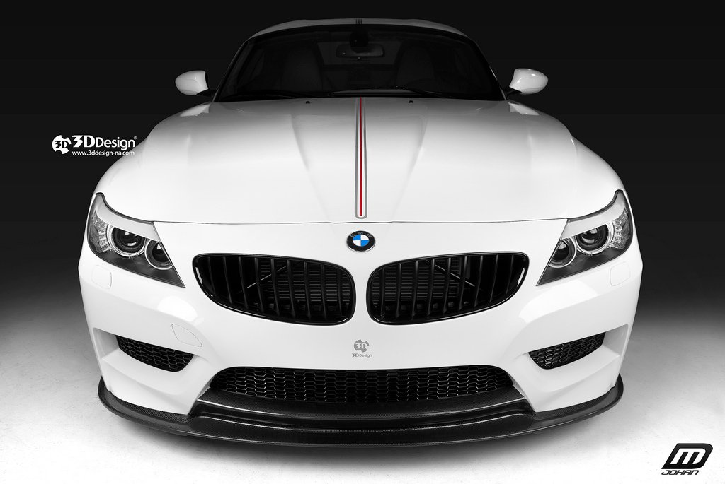 Bmw E89 Z4 Front Splitter Front Lower Splitter Addtion