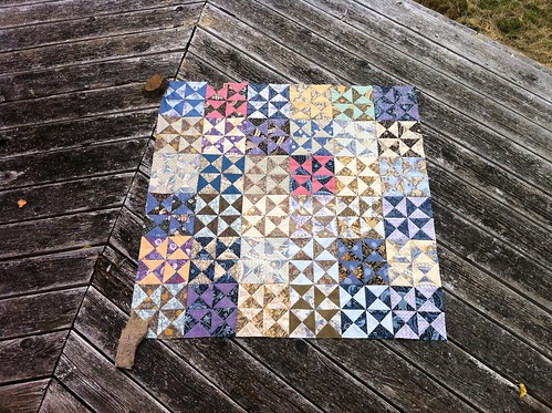 Morris Tapestry quilt top | by bewildery