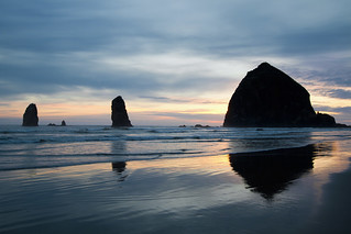 Haystack Rock on Cannon Beach Oregon | by David Gn Photography
