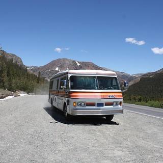 708 at Tioga Pass (~10,000 ft) | by lizaleemiller