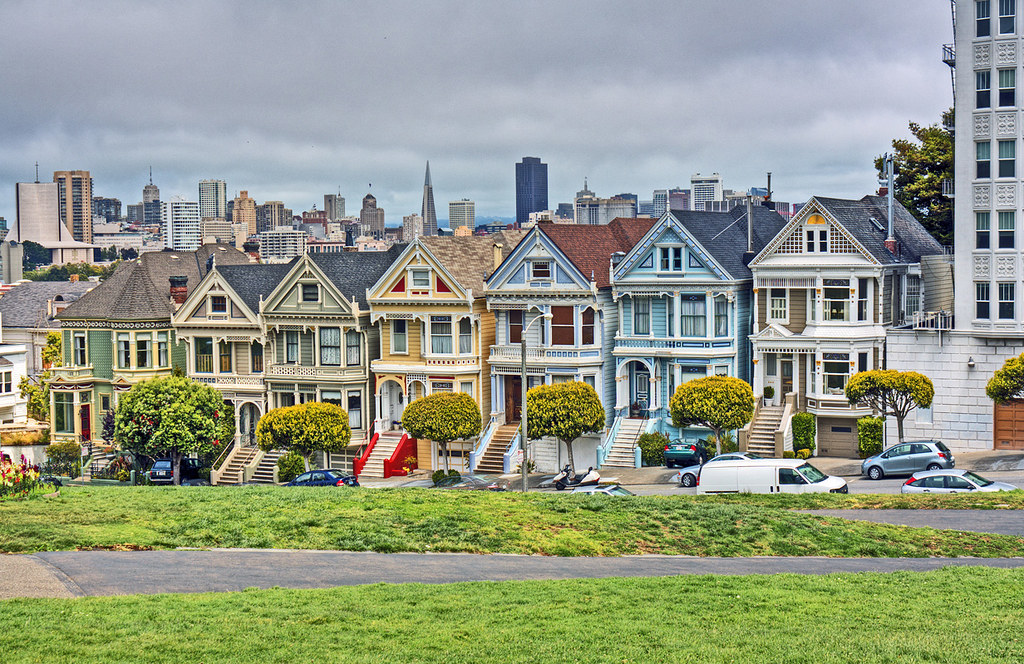 san francisco 39 s painted ladies my recent trip to san franc flickr. Black Bedroom Furniture Sets. Home Design Ideas
