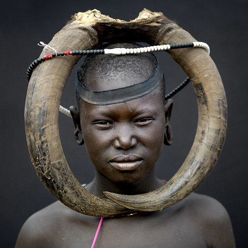 Mursi tribe imagination without border - Omo Ethiopia | by Eric Lafforgue