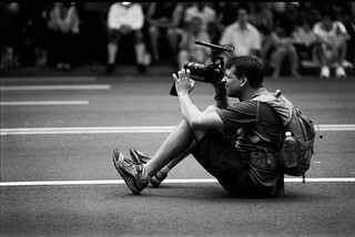 Photographer-videographer on parade in DC. | by DeusXFlorida (10,211,658 views) - thanks guys!