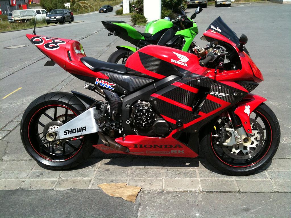 Honda Cbr 600 Rr Rcv Rossi Replica Full Carbon Honda Cbr
