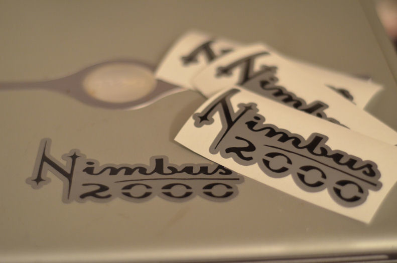 My Other Ride Is A Nimbus 2000 Harry Potter Inspired Vinyl Decal ...