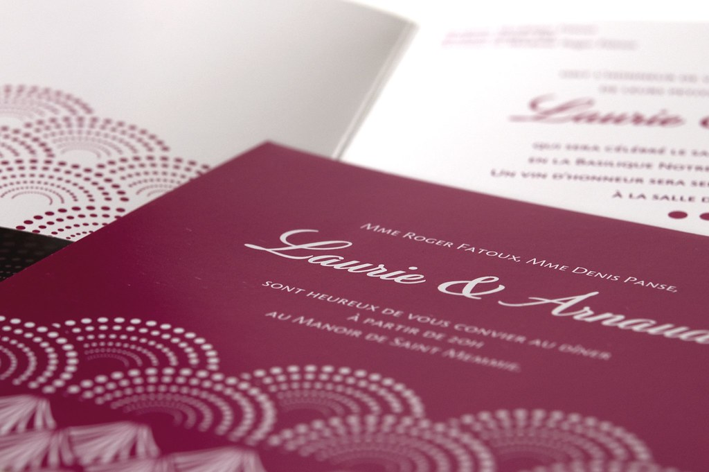 Japan wedding invitation laurie arnaud faire part desi flickr japan wedding invitation laurie arnaud by latelier delsa stopboris Image collections