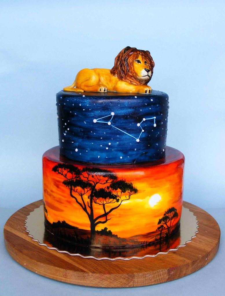 Leo Cake Happy 50th Bday Krassi Историята на