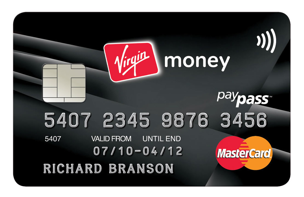 Credit Card Sign >> Virgin Money: Black Virgin Credit Card | VirginMoney | Flickr