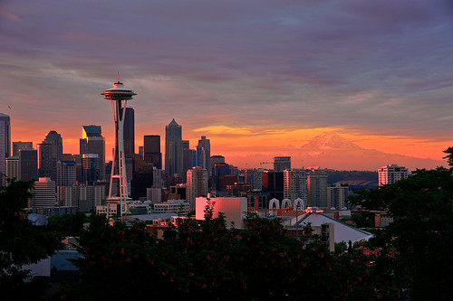 Seattle Dawn from Kerry Park | by NW Vagabond