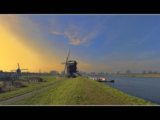 two mills and a boat | by Wim Koopman