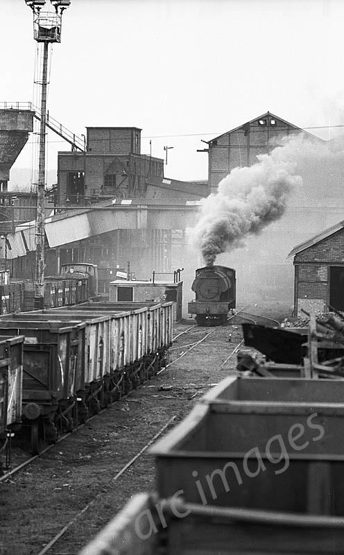 Woolley Colliery Barnsley 1978 Copyright John Bentley