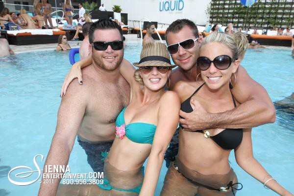 Hotel South Beach Pool Party