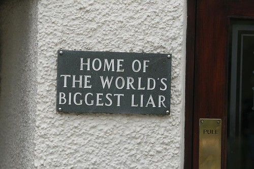 World's Biggest Liar | by Alan Cleaver