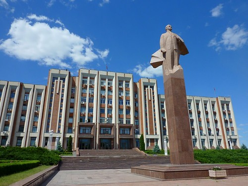 Presidential Palace in Tiraspol, Transnistria | by Frans.Sellies