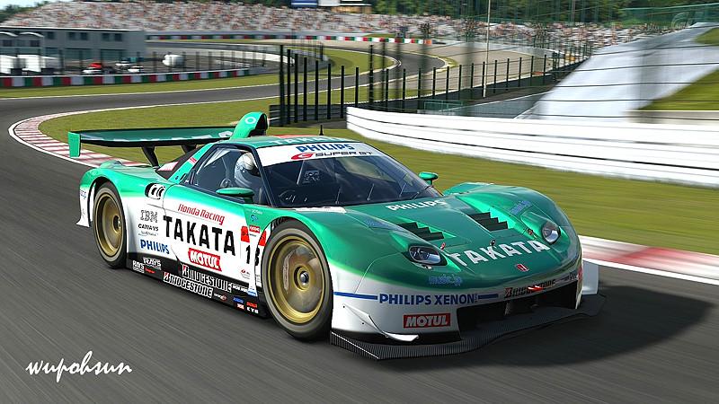 鈴鹿賽車場 Honda Takata Dome Nsx Supergt 22 Circuit Suzuka
