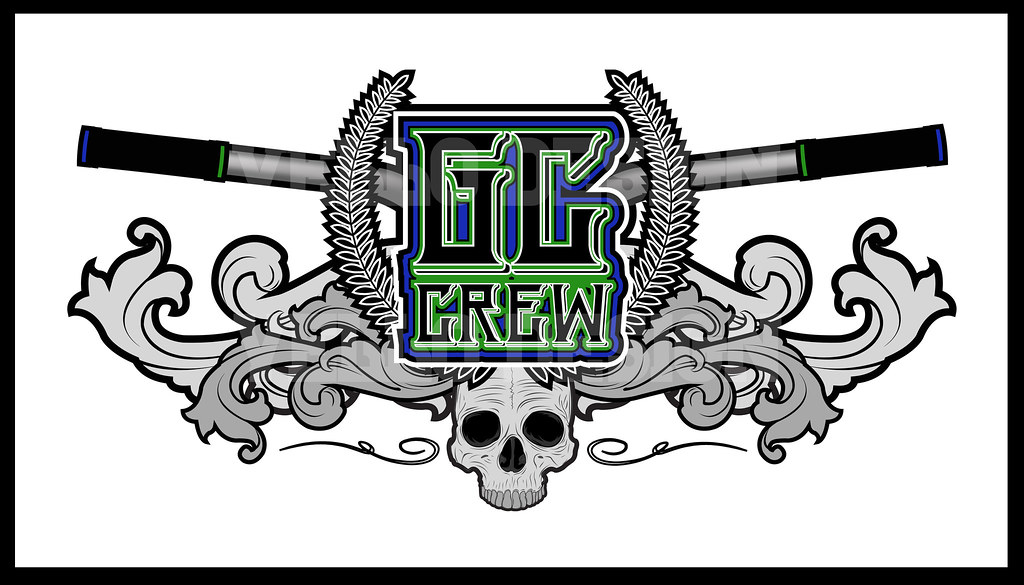 gc crew dh mountain bike team logodesign heres a