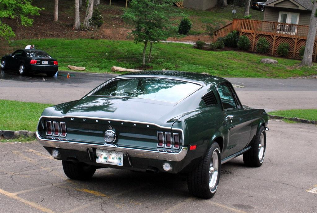 1968 Mustang Fastback At 2011 Bullitt Nationals In