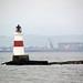 Lighthouse near Inchcolm Island, Scotland