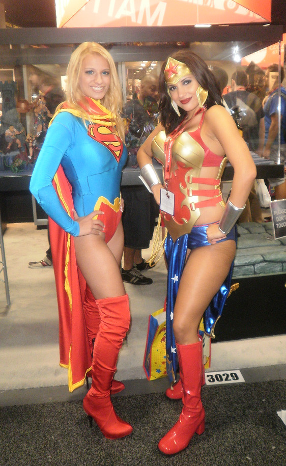 Supergirl And Anime Wonder Woman  Nicole Marino  Flickr-5816