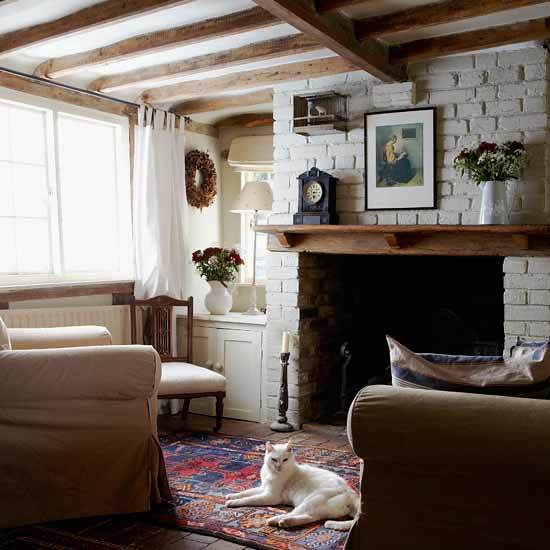 Modern Rustic Living Room: House To Home {eclectic Rustic Vintage Modern Living Room