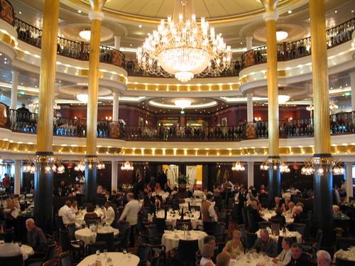 Rhapsody In Blue Dining Room Mariner Of The Seas
