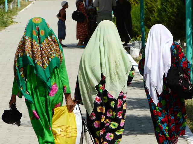 Mujeres en Uzbekistán