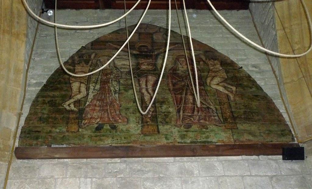 St Stephens Winsham Tympanum
