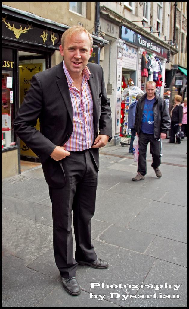 The Comedian Tim Vine At The Edinburgh Fringe On The
