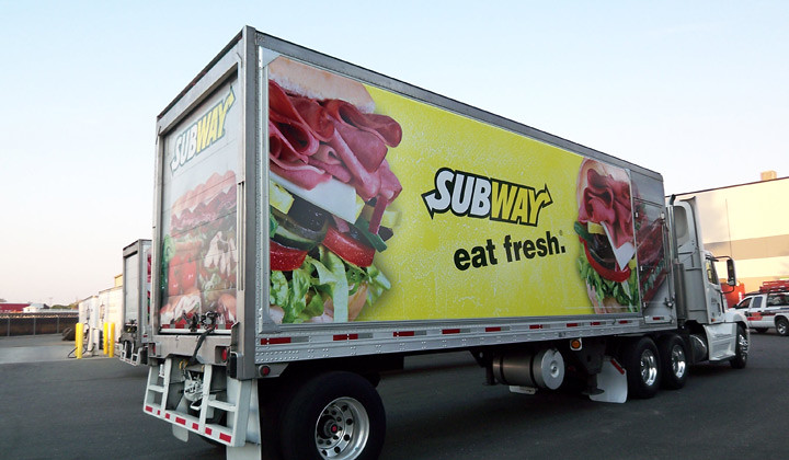 Mobile Subway Food Truck