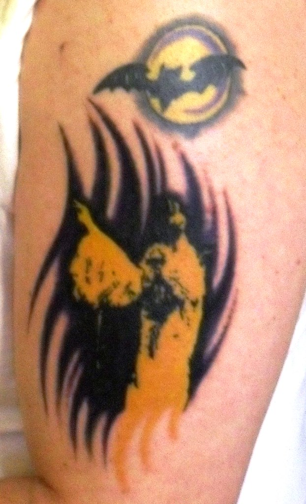 Black sabbath tattoo with moon and bat black sabbath for Bat moon tattoo