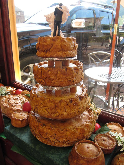 Noodle Live Cake of the Month: Pork Pie Wedding Cake