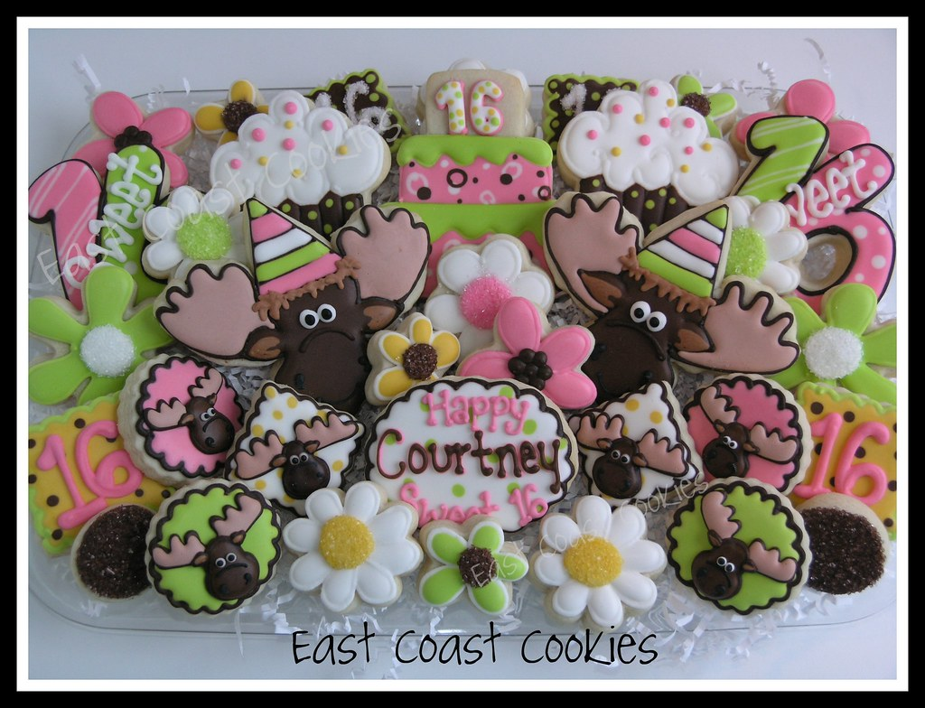 Sweet 16 'Moose' Birthday | Fun platter made for a young ...