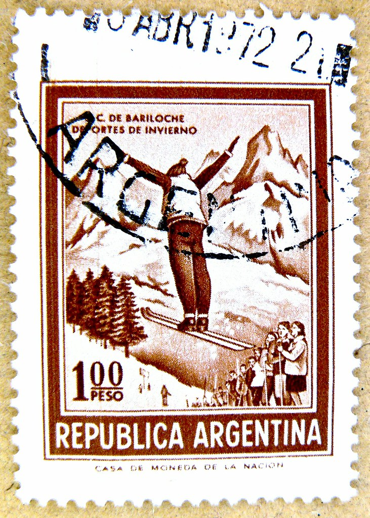 wonderful stamp argentina timbre selo sello argentina 1 00