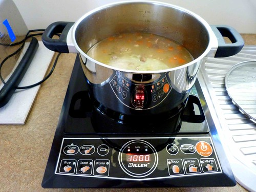 How Fast Is Induction Cooking ~ Induction cooking has a preset for soups very fast