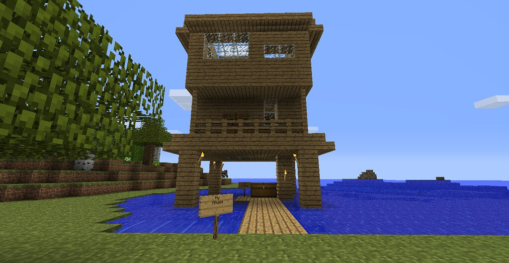 My House In Minecraft Title Says It All This House Took M Flickr