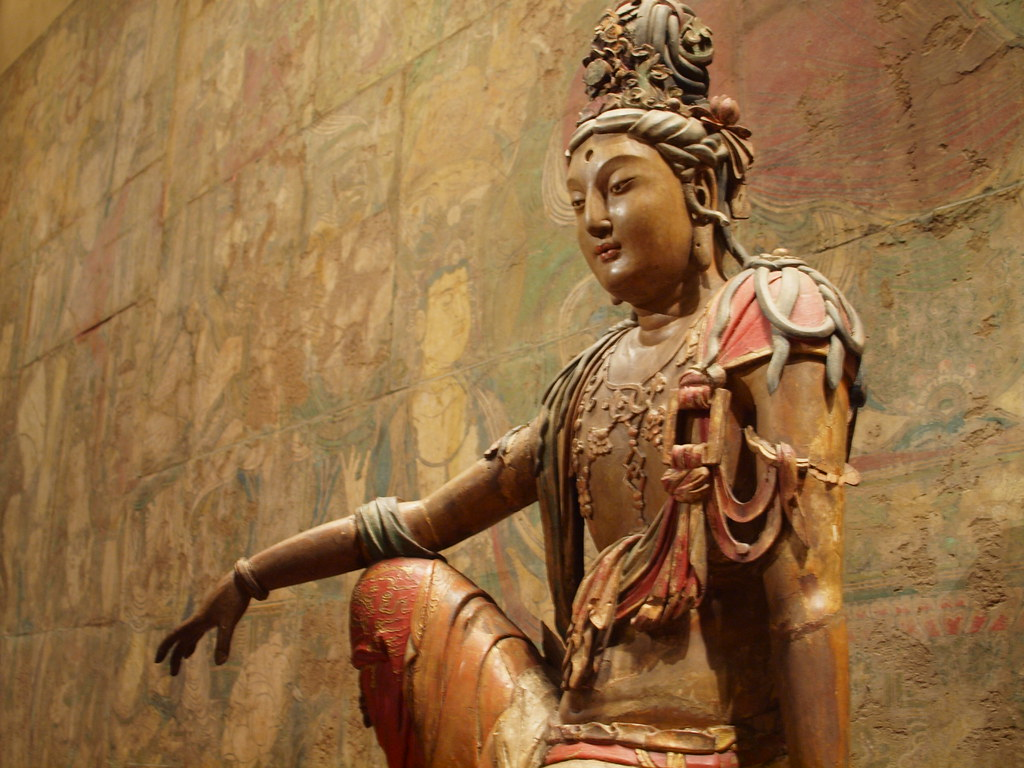 Guanyin Of The Southern Sea Select Buddist Art Pieces
