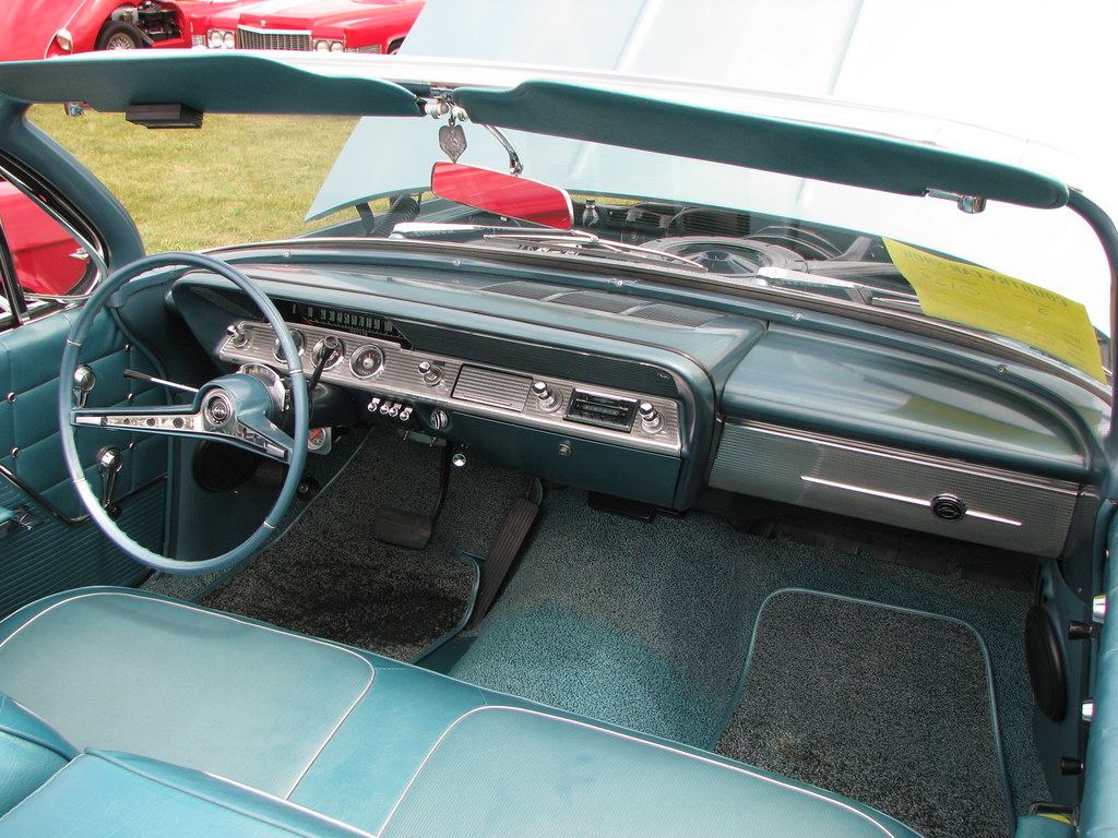 1962 Chevrolet Impala Convertible Interior Geognerd Flickr