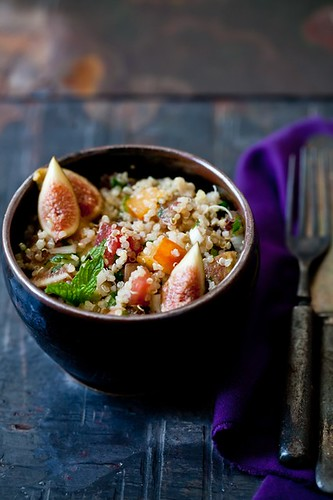 Quinoa and Fig Tabouleh | by tartelette