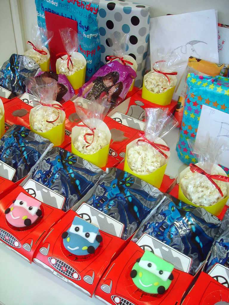 disney cars 2 party boxes great idea instead of party bags flickr
