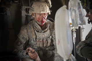 Wounded: US Army Specialist Jacob Moore in Afghanistan | by jeromestarkey
