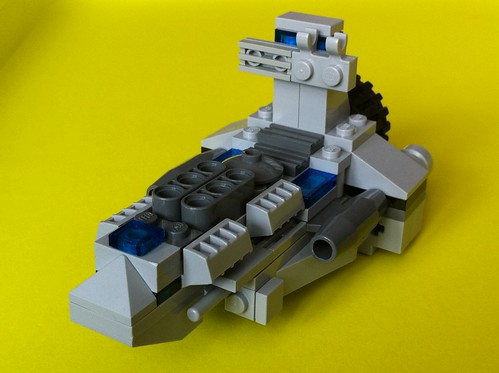 Lego miniscale spaceship | by DePin0