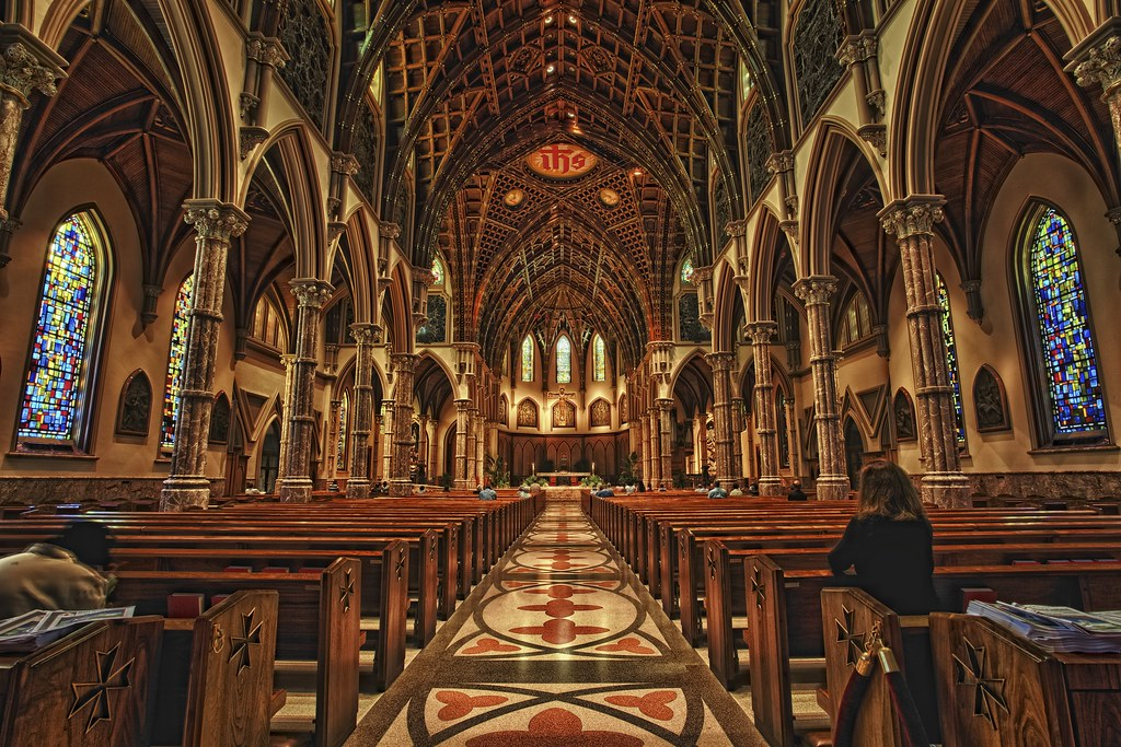Holy Name Cathedral During My Epic Photo Tour Of Chicago
