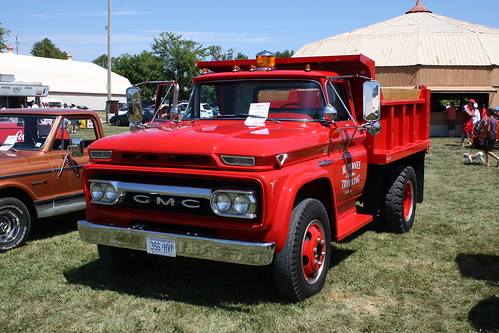 1965 White 4000 Semi Tractor : Gmc dump truck richard spiegelman flickr