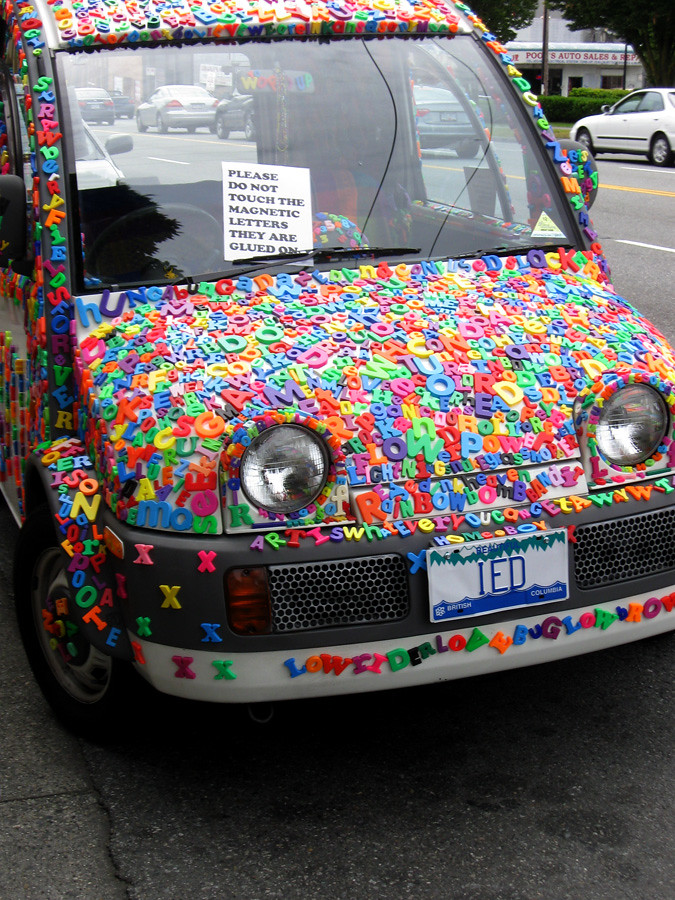most. awesome. car. ever. | I spied this outside a value vil… | Flickr
