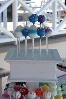 White Cake Pop Stand (2 Tiers only) | by Sweet Lauren Cakes