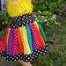 The Carousel Twirl Skirt™ (Rainbow Dots)