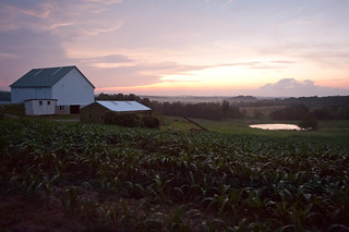 Purple Dusk on Amish Farm | by goingslowly