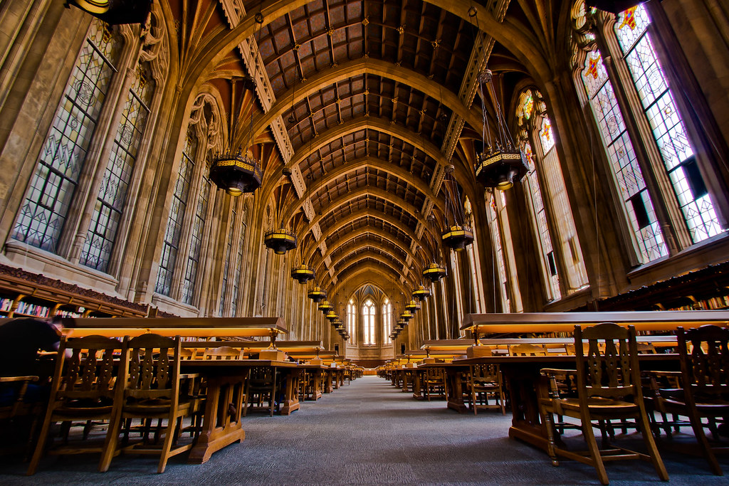 The Reading Room At Suzzallo Library Or Hogwarts Flickr